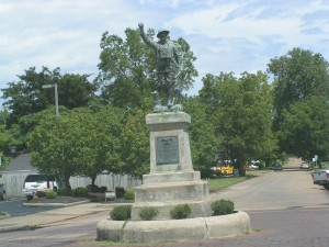 Doughboy at Helena Arkansas