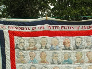 Mother's Presidential Quilt