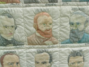 Presidents Quilt 2 by Retha Epps