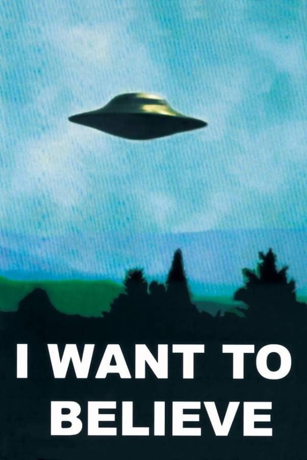 I want to believe UFO picture