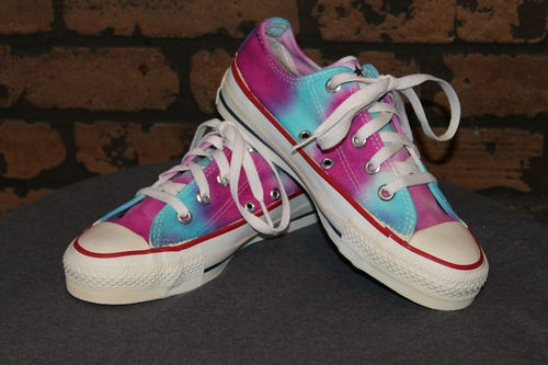 Tie Dye Shoes 2