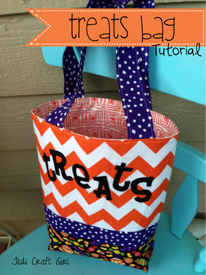 Treats Bag Tutorial