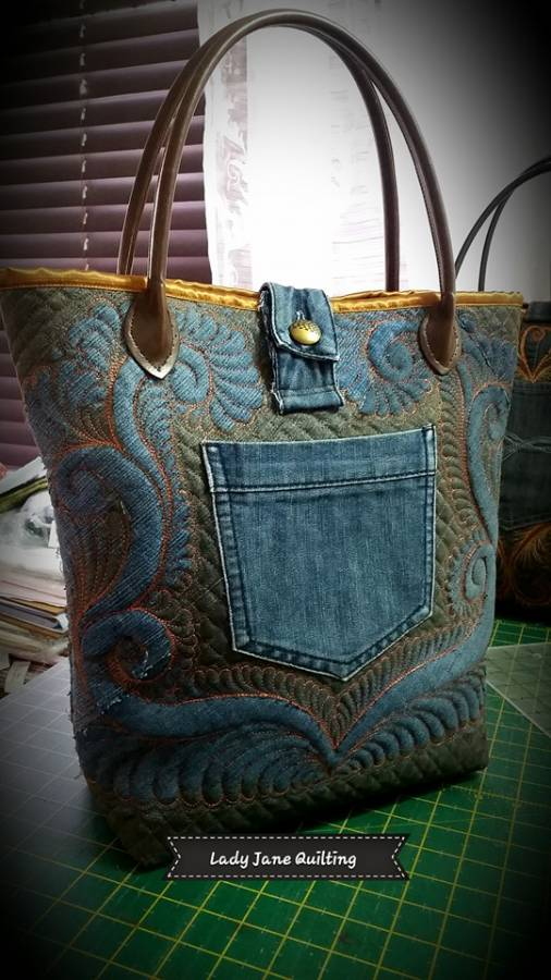 Denim Bag 4 back