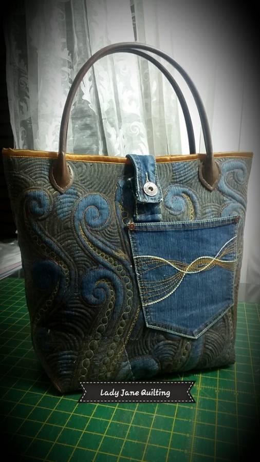 Denim Bag Back 1