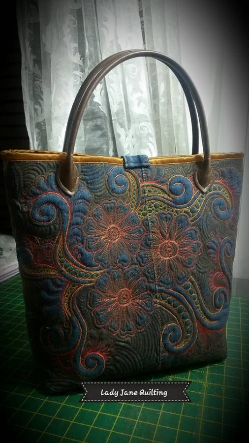 Denim Bag Front 1