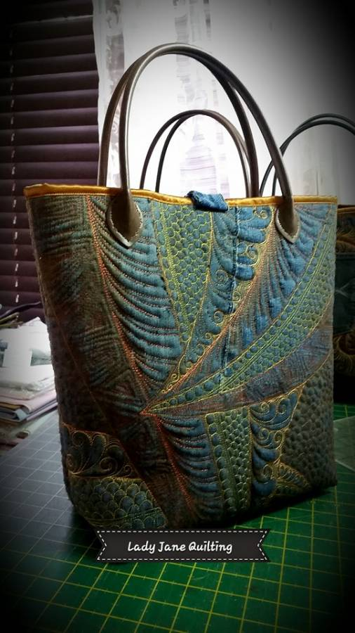 Denim Bag Front 2