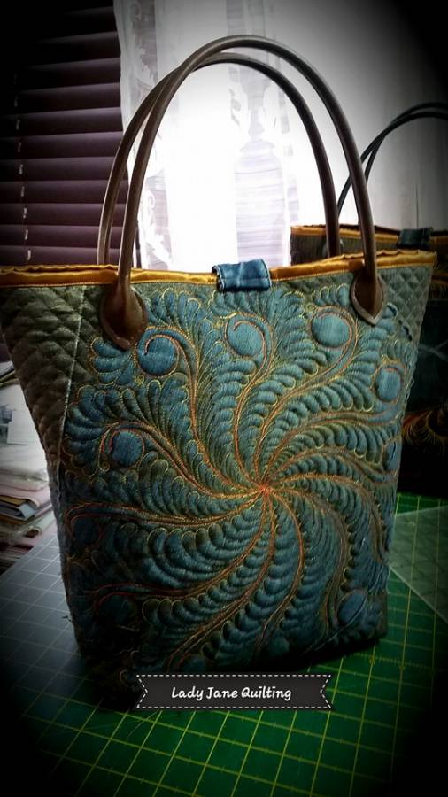 Denim Bag Front 3