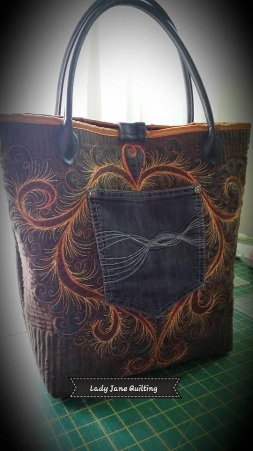 Denim Bag Front 4